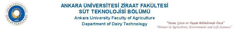 Süt Teknolojisi Bölümü